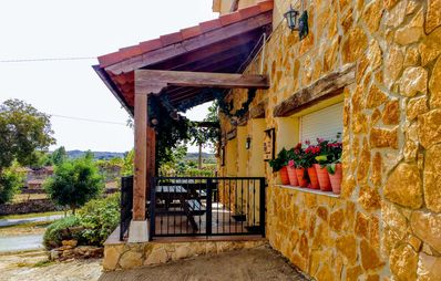 Photo for A place of Atlantic meadows and forests, 5 km from the beaches of the Ebro reservoir