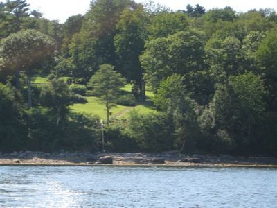 Property view from water