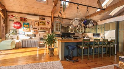 Photo for New Listing: Renovated 1860s Barn & School House on 2 Rolling Acres, Pastoral Charm & Rooftop Deck