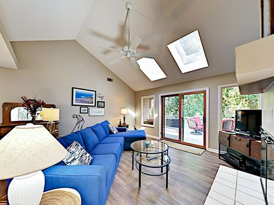 Photo for Beautiful Coastal-Chic Home w/ Private Deck & Sunroom - 1 Block to Pool
