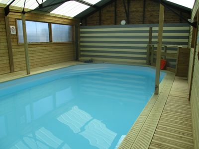 Photo for La Crochardière cottage between St Malo and Mont St Michel with spa and pool