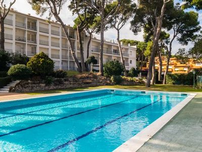 Photo for Calella de Palafrugell Apartment, Sleeps 2 with Pool
