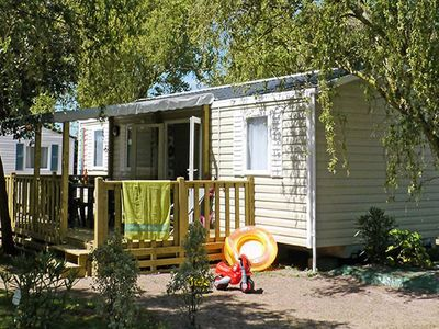 Photo for Camping Les Grosses Pierres ***** - Mobil Home 5 Rooms 8 People