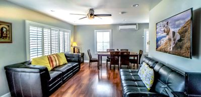 Photo for All you need! Private home, clean 3 bdrm, sleeps 8