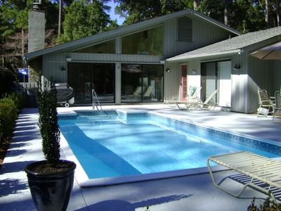 Photo for Best Value in Sea Pines! 3 BR/2 BA with Private Pool
