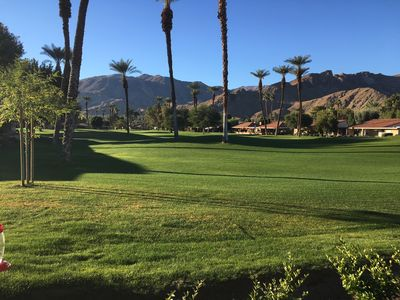 Photo for Rancho Mirage/Palm Springs-An oasis in the  Desert-Golf course view