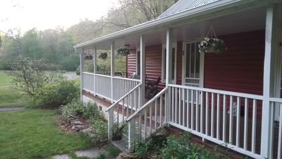 Photo for Red Cottage on 300 Acres- Blackberry Suite- Family Friendly Mountain Retreat
