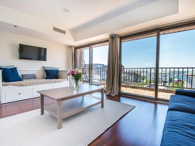 Photo for Luxury Newport Harbor Condo with Stunning Waterfront View