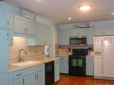 Photo for Family friendly 4 Bedrm 2 Bath House. Walking distance to Ocean. Sleeps 9.
