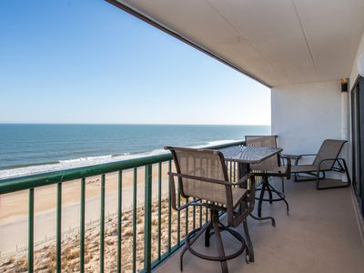 Photo for Near Boardwalk! Direct Oceanfront w/ Wi-Fi, Ocean Views & Outdoor Pool