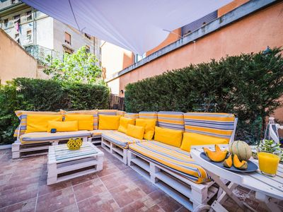 Photo for Amazing flat with terrace in S.Giovanni - Close to Colosseum