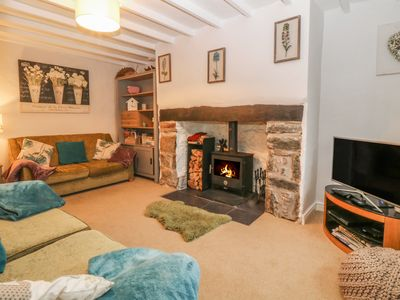 Photo for RHIANFA, pet friendly, with open fire in Newborough, Ref 984630