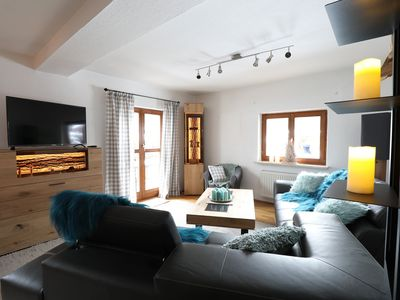 Photo for Fantastic Chalet with Panormic View of the Zugspitze, Balcony, Garden, Fitness Room & Wi-Fi; Parking and Garage Available