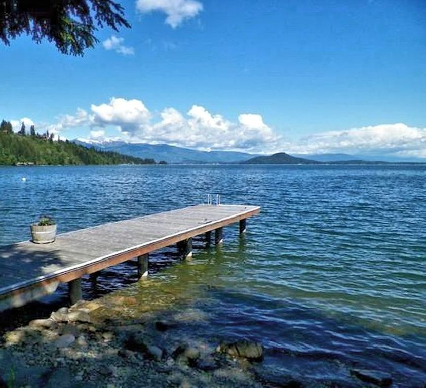 Great Vacation Home At Bottle Bay, Sandpoint Idaho For