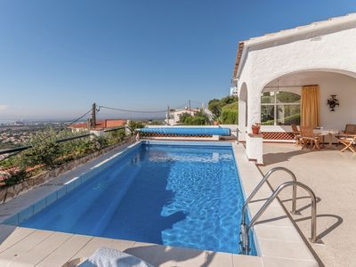 Photo for Modern Holiday Home in Roses with Swimming Pool