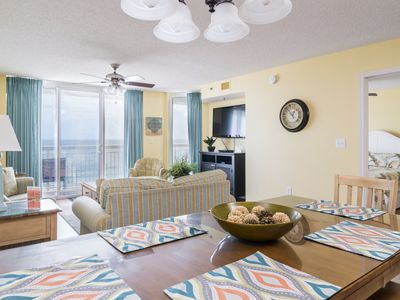 Photo for Crescent Shores S. -  606 This bright sunny condo is the perfect getaway.