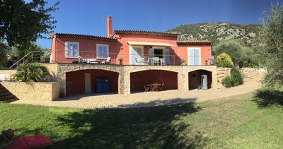 Photo for Nice 10km Villa with Spa Pool