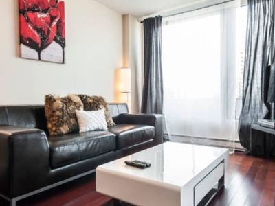 Photo for Amazing view! Old port&downtown, king bed, parking