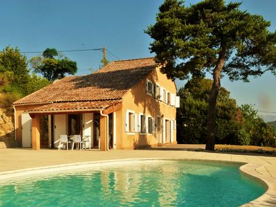 Villa and pool in the National Verdon Park