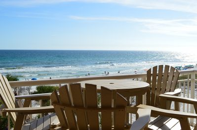 What a balcony view from Destin Towers 43!