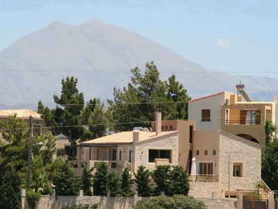 Photo for This 4-bedroom villa for up to 10 guests is located in Chania Region and has a private swimming pool