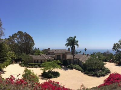 Photo for Panaramic Ocean View Private Gated Estate with Pool