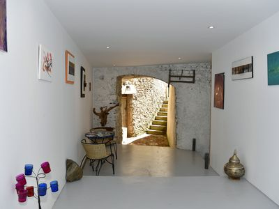 Photo for Beautiful terraced house of the 17th century restored