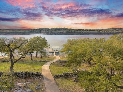 Photo for Lake Travis Waterfront; Boat Dock, Deep Water, 75 Inch TV, Pool Table, Grill