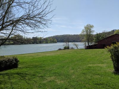 Photo for lake front cottage . Bring your kayaks!!