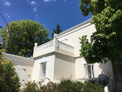 Photo for Villa, Mont Saint Clair, garden, swimming pool, 700 meters from the beach