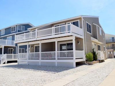 Photo for BEACHBLOCK TOWNHOUSE at the south end of the Island is one of Sea Isle's Best kept secrets. Just steps to the beach.