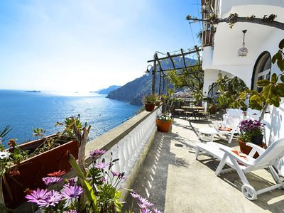 Photo for Casa Ramni with Private Terrace, Sea View and Air Conditioning