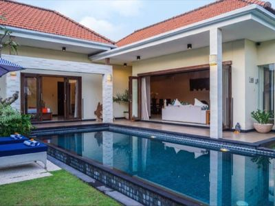 Photo for Balinese Contemporary 3-Bedroom Villa at Seminyak