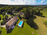 Beautiful private character property with lovely pool and views