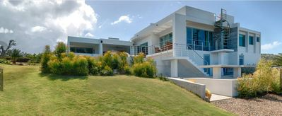 Photo for Exclusive Luxury Modern Home With Spectacular Ocean And Down Island Views