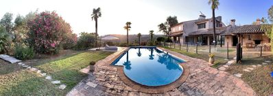 Photo for Villa 6 bedrooms with pool 15min from Cannes