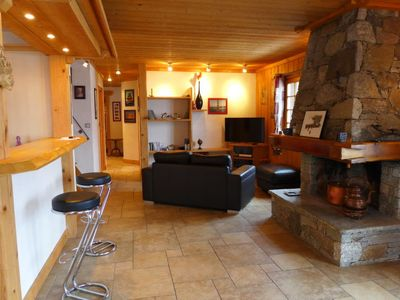 Photo for 1BR Villa Vacation Rental in Chamonix-Mont-Blanc