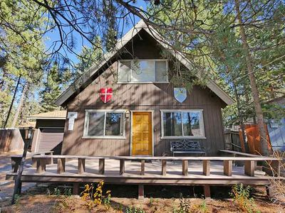 Photo for Upgraded Tahoe Cabin - Close to Heavenly, Large Fenced Yard and Private Hot Tub- 3542B~