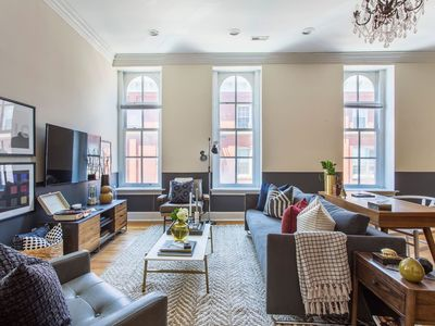 Photo for Domio | Old City | Chic 2BR near Independence Hall