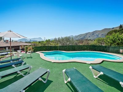 Photo for Can Moragues - This Villa includes a private pool, WI-FI & A/C