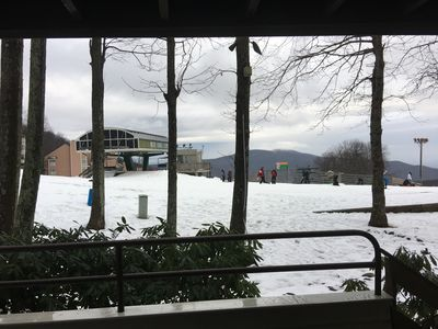 "Photo for Best True ""Ski-In, Ski-Out"" 2 Bedroom Condo at Wintergreen, Beautiful, like new."