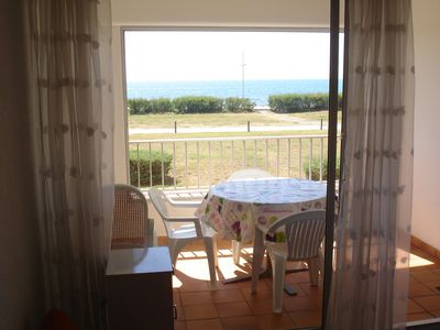 Photo for Cap d'Agde t3 54m2 apartment facing the sea front sea with sea view