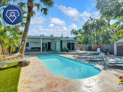 Photo for 🌅PRIVATE POOL home with Large Paved Patio in Downtown Fort Lauderdale 3bed/2bath