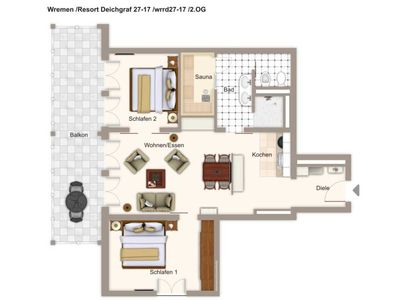 Photo for wrrd27-17 Resort Deichgraf 27-17 - Resort Deichgraf 27-17