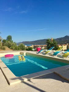 Photo for New! Beautiful apartment with sea views and pool near the beaches and port