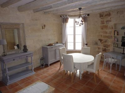 Photo for Quiet and bright apartment in the historic center of Uzès