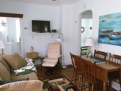 Living room/dining room completely renovated for your relaxation