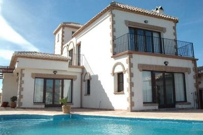Photo for 3 bedroom Villa, sleeps 6 in Cónchar with Pool, Air Con and WiFi