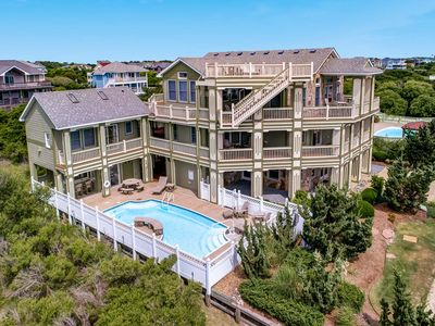 Photo for Hughes Hideaway | 630 ft from the beach | Private Pool, Hot Tub | Corolla