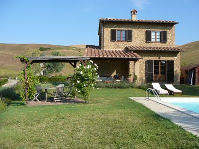 Photo for Beautiful Villa With Private Pool and  Rolling Hills - Volterra / San Gimignano
